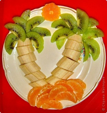 Украшение блюд своими руками пошаговое фрукты