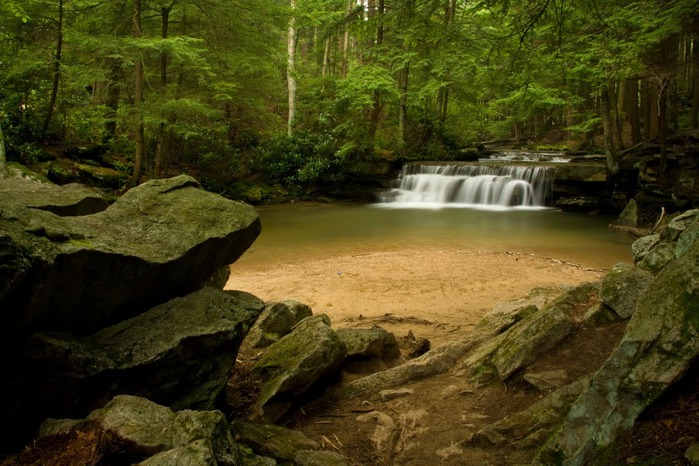 Swallow Falls State Park in Maryland USA 25292