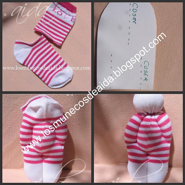 Как сделать сумку кукле из носка