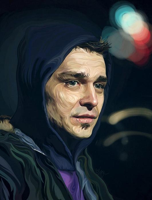 Польский иллюстратор Lukasz Poslad
