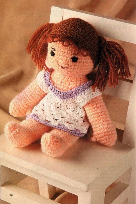 вязаные куклы крючком - Самое