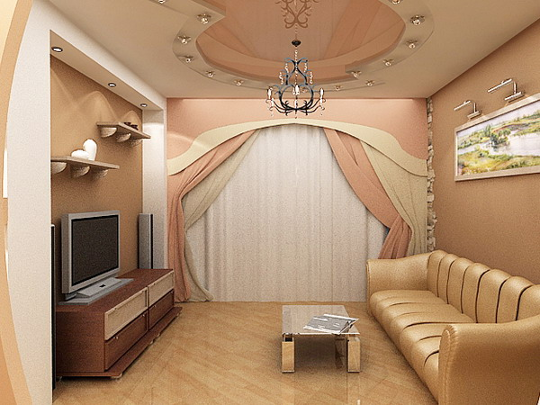 Дизайн небольшой комнаты гостиной