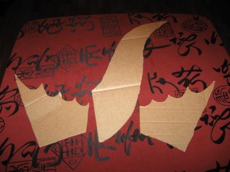 Как сделать голову дракона из картона