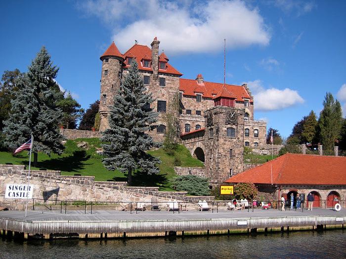 Замок Зингера (Singer Castle) на острове Дарк-Айленд (Dark Island) (Канада) 54004