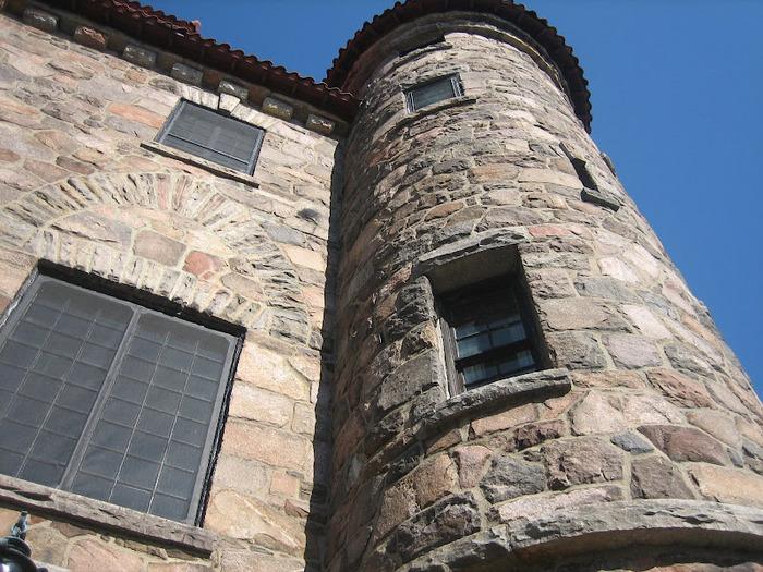Замок Зингера (Singer Castle) на острове Дарк-Айленд (Dark Island) (Канада) 69198