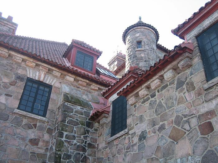 Замок Зингера (Singer Castle) на острове Дарк-Айленд (Dark Island) (Канада) 52596