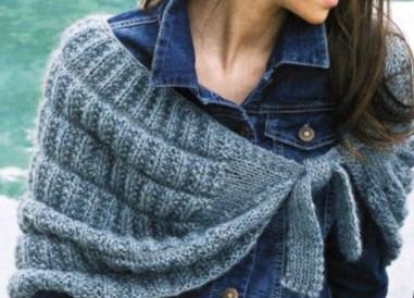 Накидка-шарф с завязками -очень  удобной формы,связан спицами красивой вязкой/4683827_20120122_162445 (381x274, 36Kb)