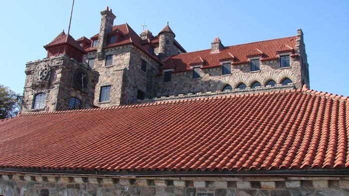 Замок Зингера (Singer Castle) на острове Дарк-Айленд (Dark Island) (Канада) 36862