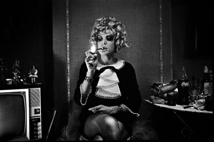 Парижские проститутки 1950-х годов. Ночная жизнь Франции 01 (700x467, 59Kb)