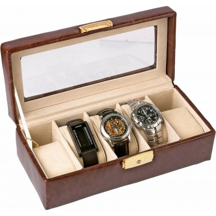 Храните свои часы в шкатулках - это красиво и практично