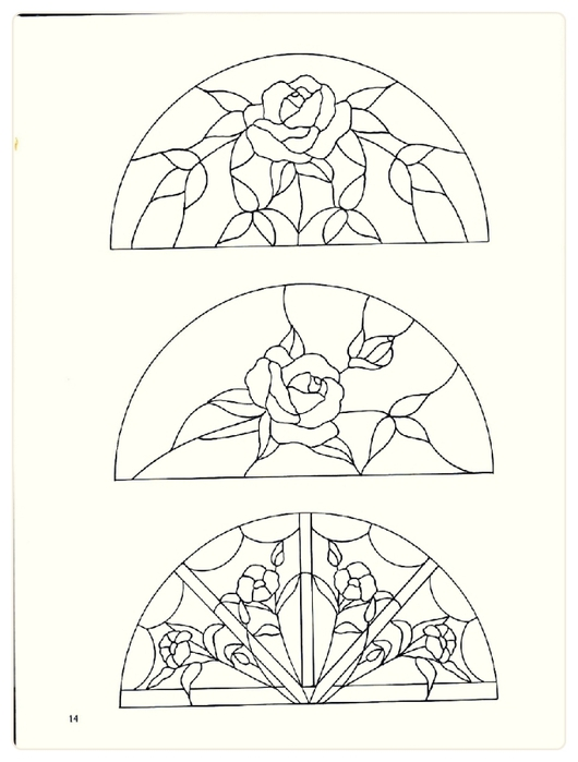 Decorative Doorways Stained Glass - 14 (530x700, 139Kb)