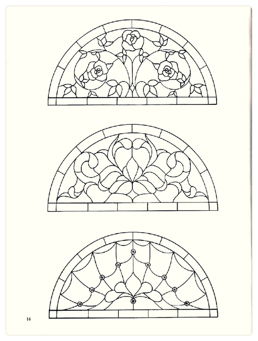 Decorative Doorways Stained Glass - 16 (530x700, 156Kb)