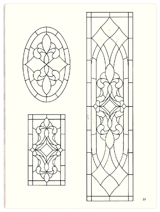 Decorative Doorways Stained Glass - 23 (530x700, 152Kb)