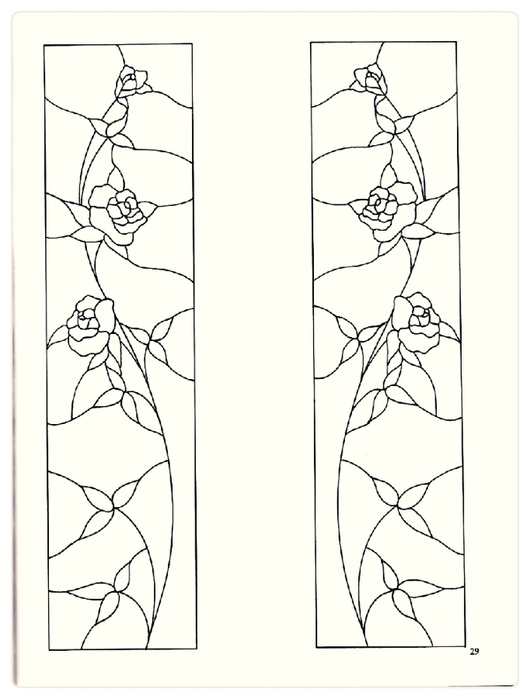 Decorative Doorways Stained Glass - 29 (530x700, 126Kb)
