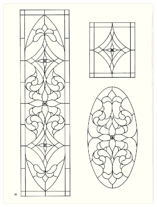Decorative Doorways Stained Glass - 36 (530x700, 164Kb)