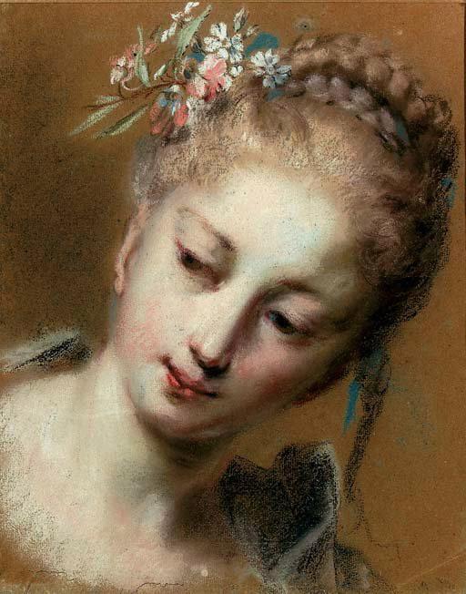 Девушка с цветами в волосах (512x652, 83Kb) .