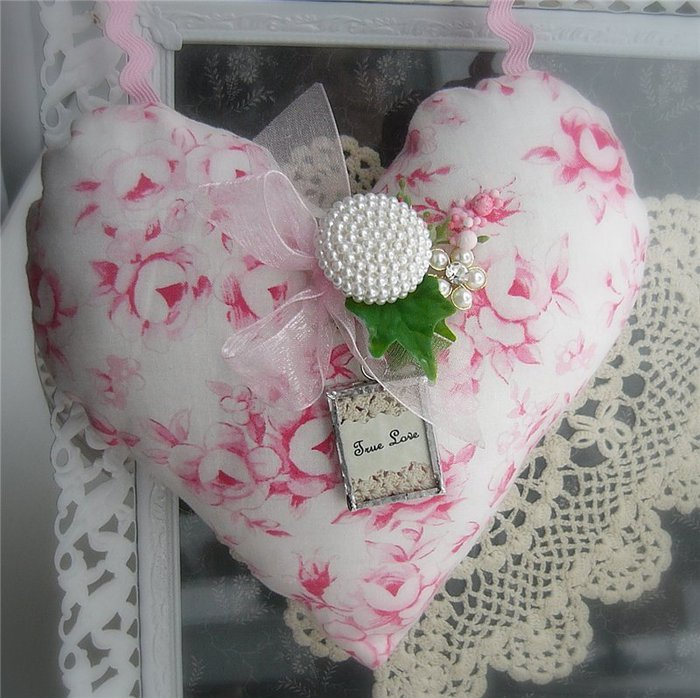 Сердечка своими руками из ткани