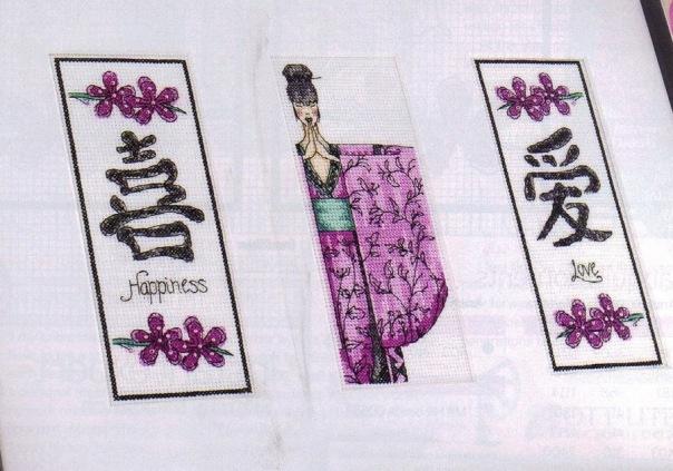 Схемы на тему Востока: японские и китайские птицы, восточные красавицы и т.п. Очень красивые схемы в графике.