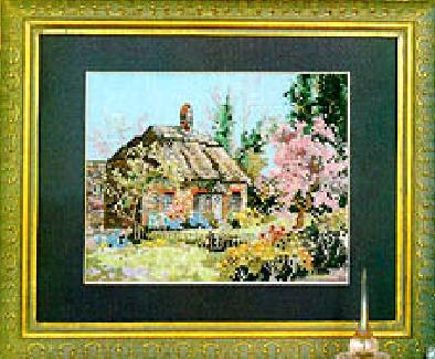 Домик в вишневом саду.