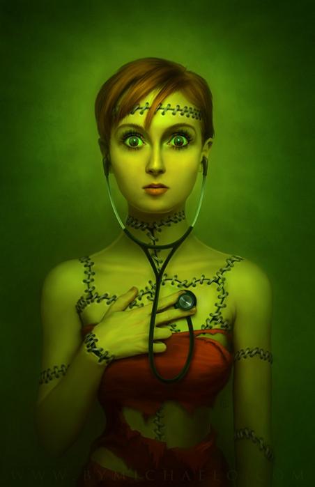 Яркая и фантастическая цифровая живопись Майкла Освальда