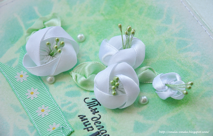 Как сделать цветы из мыла  с фото