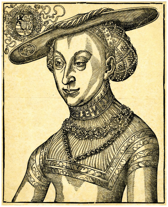 1525-1600-Sybilla of Cleves копия (569x700, 258Kb)