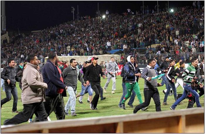 Трагедия на футболе в Египте