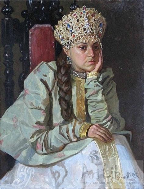 Левченков Александр Михайлович . Мария Темрюковна (472x620, 251Kb)