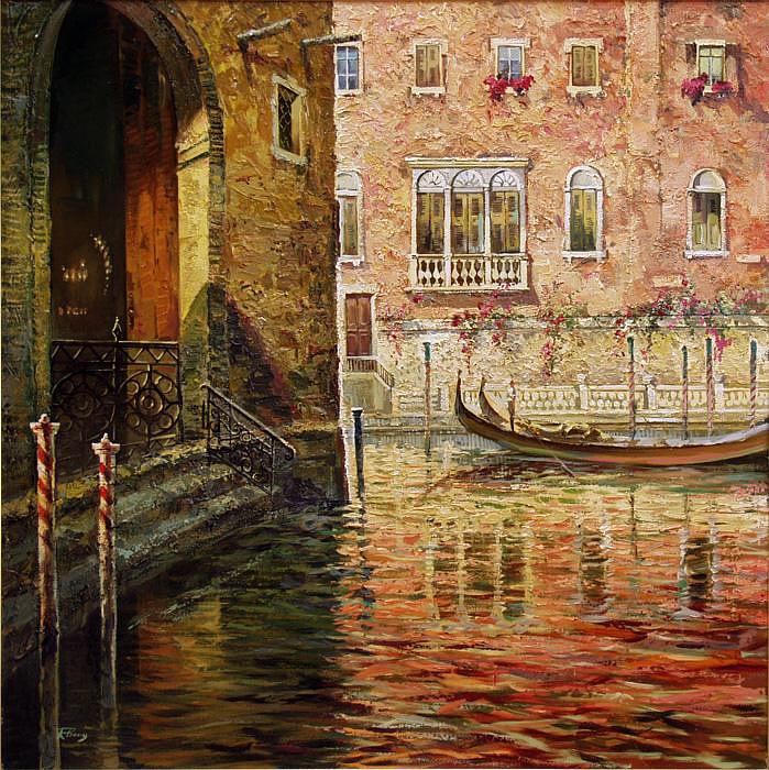 В воде Венеция плыла..Ruben Bore (Рубен Боре), города