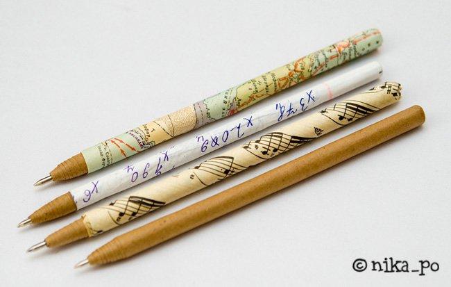 Ручка из бумаги своими руками