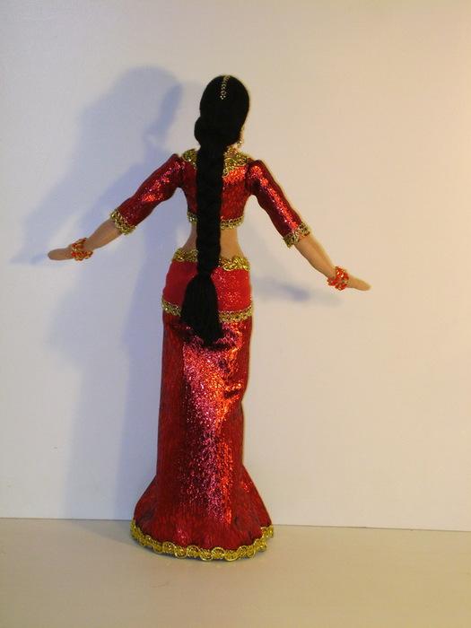 Костюм индианки для куклы своими руками