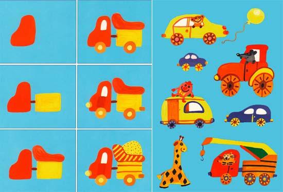 Раскраски тема игрушки