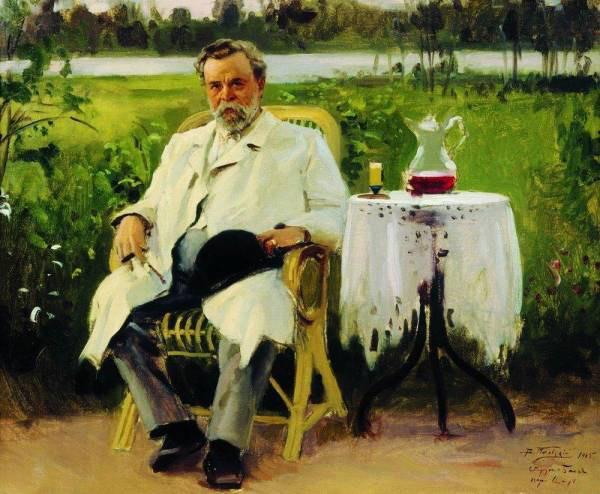 Портрет И Е Цветкова 1905 (600x494, 78Kb)