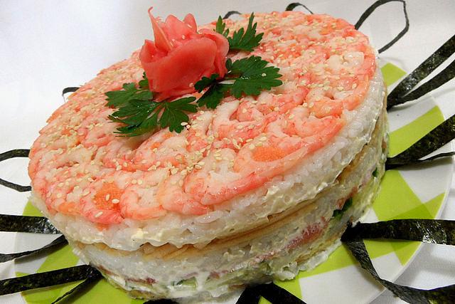Суши-торт. (640x427, 74Kb)