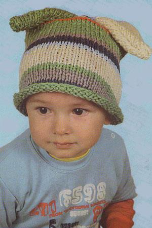 и спицами · Вязание шапочка