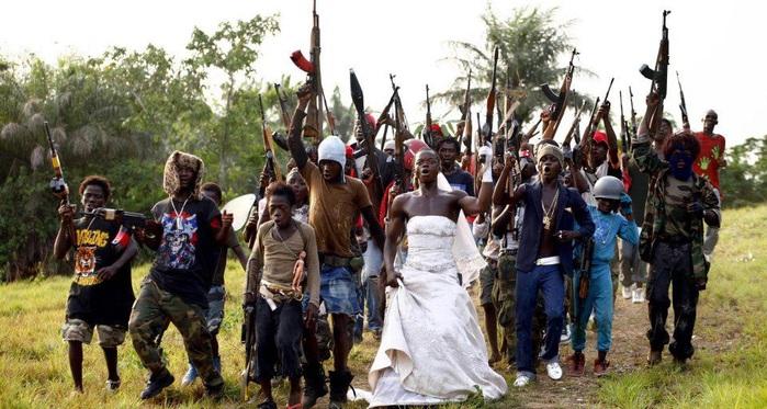 Свадьба по конголезски!