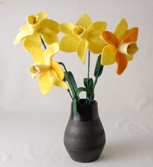 Мастер-Класс из фетра: цветы нарцисса. Комментарии : Блоги на КП-Украина