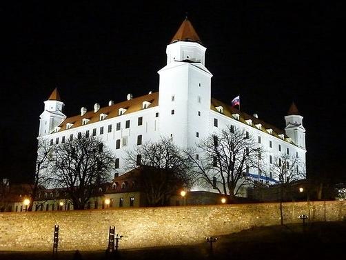 Прогулка по Братиславскому граду!