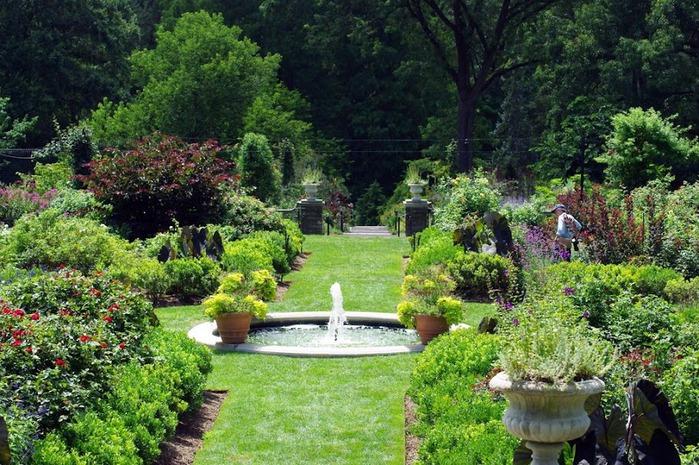 Общественный парк Morris Arboretum, Филадельфия 67266