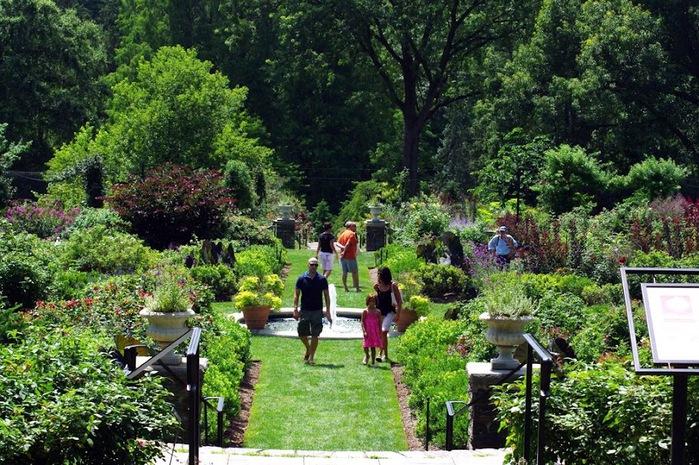 Общественный парк Morris Arboretum, Филадельфия 20480