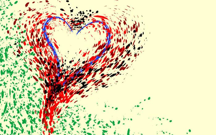 Кроме того,сердце часто означало и Эроса, бога любви.  Так же.