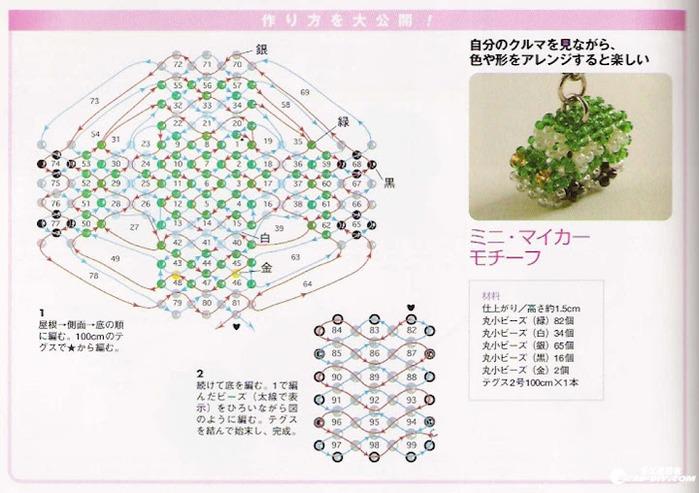 Часть 1. Часть 2. Часть 4. Часть 5. Схемы игрушек из бисера, бусин, страз, кристаллов.