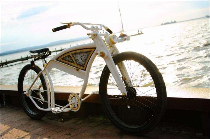 велик который похож на мотоциклах