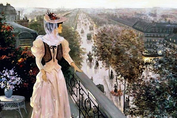 Крыши Парижа (595x397, 97Kb)