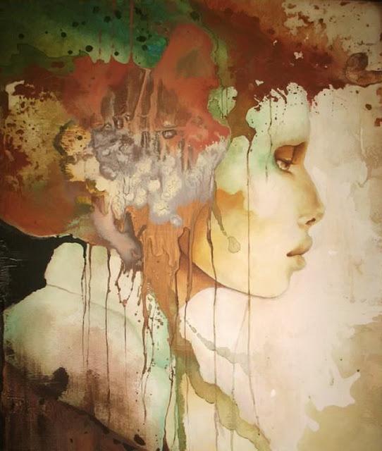 Pascale Pratte 帕斯卡尔普拉特 俄罗斯画家 - milk  - ☆ Milk ☆ 平平。淡淡。也是真。
