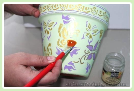 Какой краской красить глиняные поделки 75