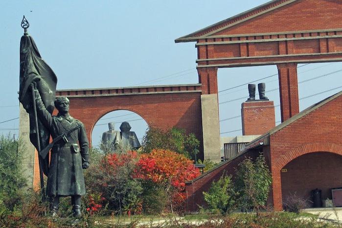 Памятники советского прошлого в Будапеште - Szoborpark 20145