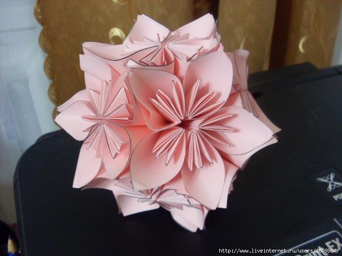 Серия сообщений орігамі
