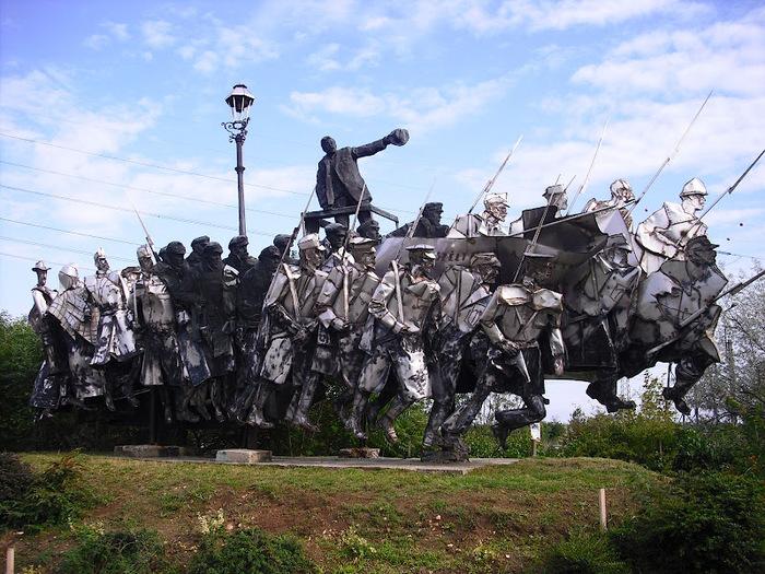 Памятники советского прошлого в Будапеште - Szoborpark 66195