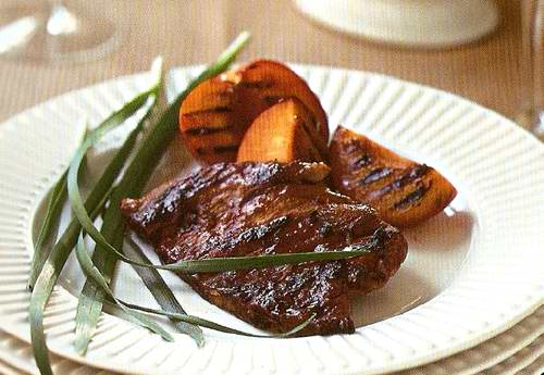 рецепт мясо в сливовом соусе (500x345, 32Kb)